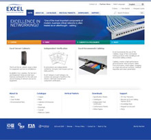 New Excel Networking Solutions' Website