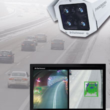 Panomera Traffic offers traffic analyses for motorways, trunk roads, tunnels and urban roads in real time