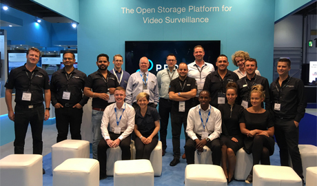 Promise Technology IFSEC 2017 stand