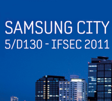 Samsung City will feature its full range of security solutions, including IP & Network products, CCTV, access control, door entry and intruder detection portfolio