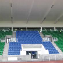 Bosch's Praesideo, public address system, presides over the Scotstoun Stadium