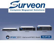 Surveon, the complete megapixel solutions provider, will launch its first megapixel NVR with built-in hardware RAID controller at IFSEC 2011.