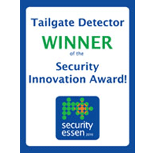 IEE's Tailgate Detector wins Security Innovation Award