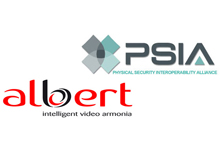 Videotec's video motion detector units, ALBERT, now PSIA integrated