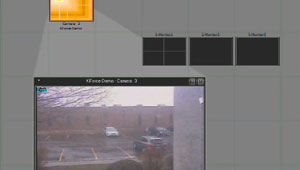 How to View Video Using ViconNet's Virtual Matrix Display Controller