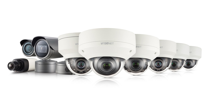 Wisenet camera series