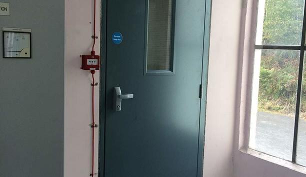 Abloy UK fire door solution secures battery rooms of ScottishPower