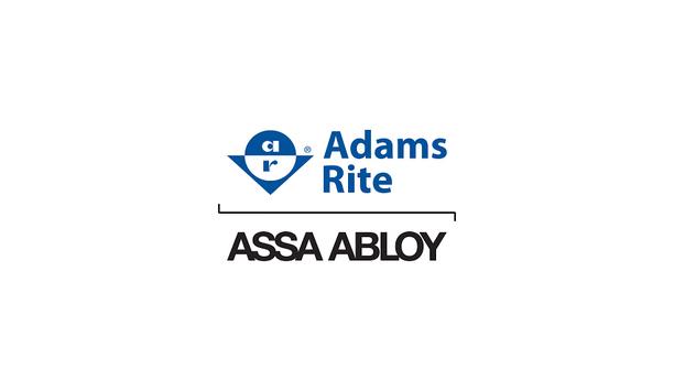 Adams Rite 8600 Series CVR And 8800 Series Rim Exit Devices At ASIS 2016