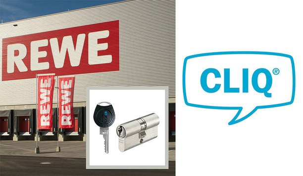 CLIQ® Locking System Protects REWE's New Logistics Center In Germany