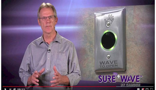 Camden Tough video highlights features and benefits of Surewave Touchless Switches