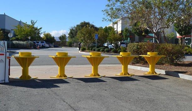 New Delta Crash Rated TB100 Portable Bollard System Will Counteract Vehicle Terrorism