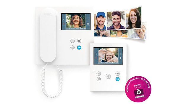 FERMAX introduces PhotoCaller: For additional community and home security
