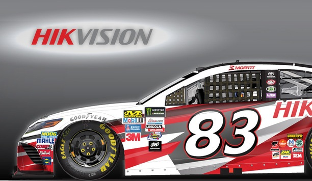 Hikvision And Vector Security Co-sponsor Car For Monster Energy NASCAR Cup Series