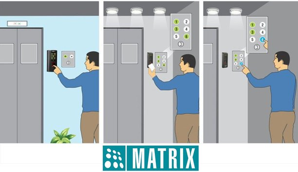 Matrix offers elevator-based access control with new advanced features for use across multiple sectors