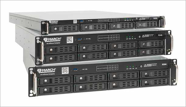 March Networks' 9000 Series video recorders offer cost-effective IP video solution