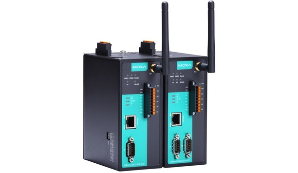 Moxa Introduces NPort IAW5000A-6I/O 3-in-1 Serial Server Offering RS-232/422/485 And Digital I/O Connectivity Via Wi-Fi