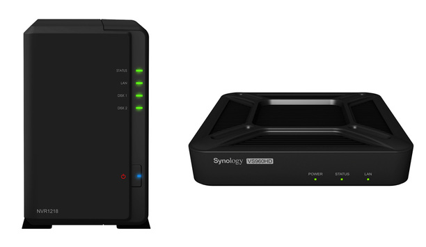 Synology introduces new Network Video Recorder NVR1218 and VisualStation VS960HD