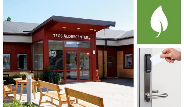 ASSA ABLOY Aperio distributor Tidomat provides wireless access control to Swedish care home Tegs Äldrecenter