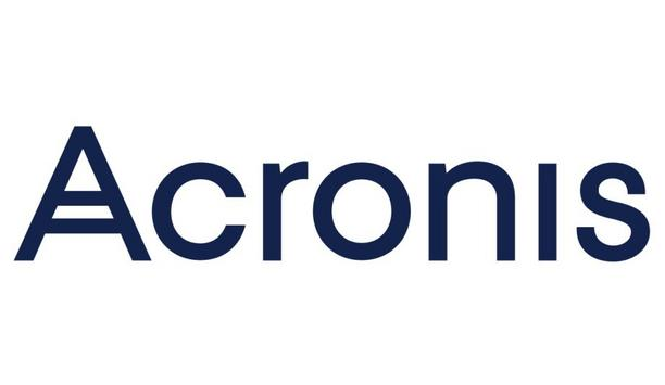 Acronis shares details of their partner programme to provide technical and financial support to their partners