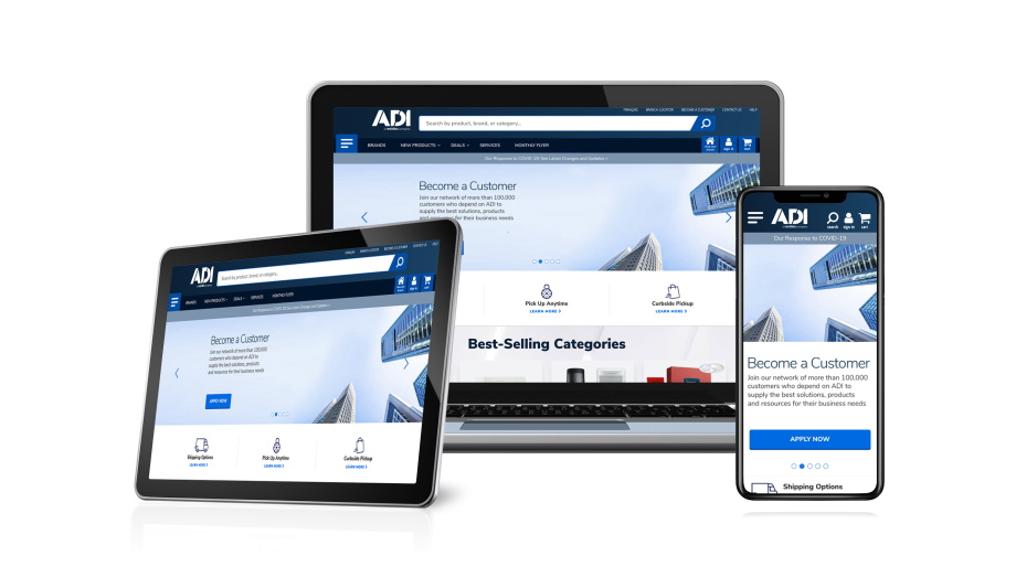 ADI Global Launches A New Website To Enhance Online Shopping Experience For The U.S., Canada And Puerto Rico