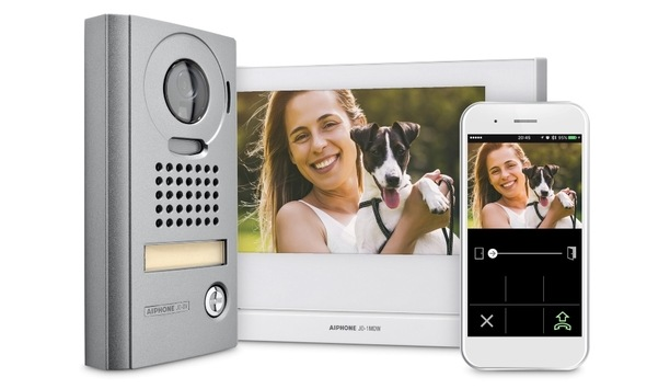 Aiphone launches updated JO series video intercom device with an option for recording visitors