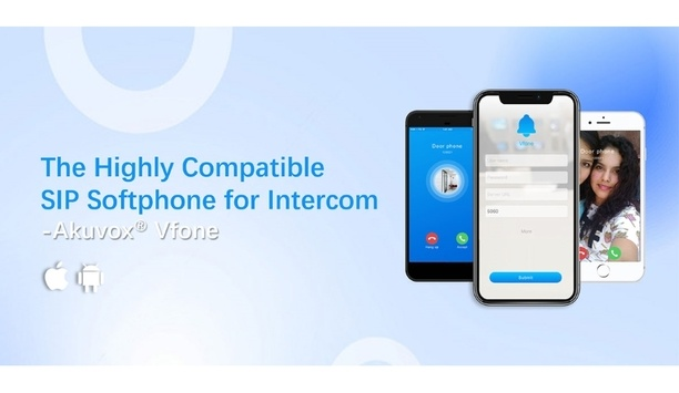 Akuvox releases Vfone SIP Softphone app specifically designed for Intercom applications