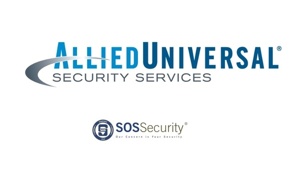 Allied Universal Partners With SOS Security To Provide Enhanced Security Solutions