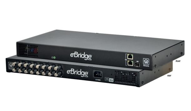 Altronix's High-End EBridge 16-Port Ethernet Over Coax PoE Switch Accommodates Fiber Optics For More Versatile Enterprise System Solutions