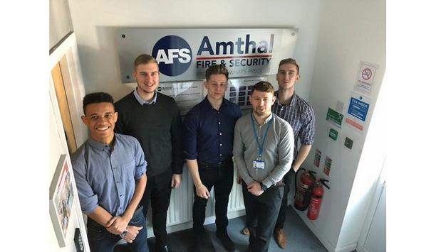 Amthal Fire & Security CEO Jamie Allam Discusses The Benefits Of Having Apprenticeship Schemes
