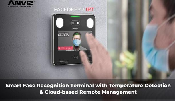 Anviz Launches CrossChex Cloud With FaceDeep 3 Contactless Face Recognition Terminal