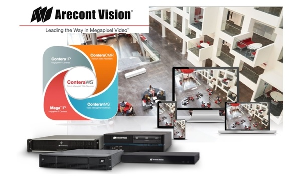 Arecont Vision launches ConteraVMS, ConteraWS web services, and ConteraCMR cloud managed video recorders