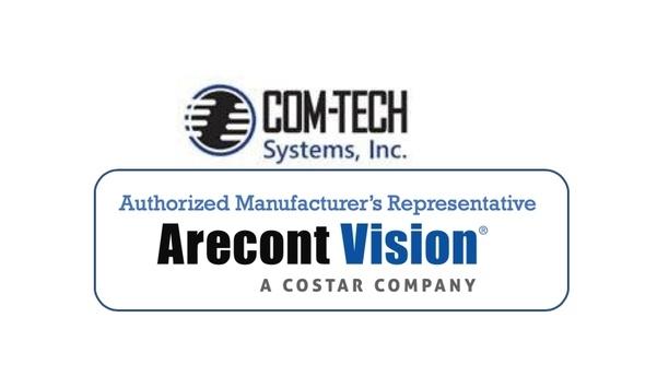 Arecont Vision Costar announces COM-TECH Systems as manufacturer's representative for Southeast region