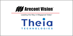 Arecont Vision Expands Technology Partner Program With IP Video Surveillance Lens Specialist Theia Technologies
