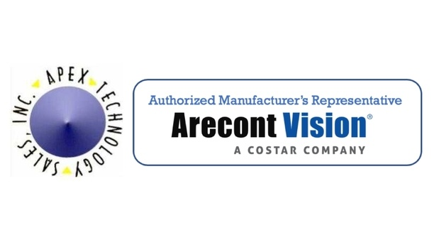 Arecont Vision Costar adds Apex Technology Sales to its Authorized Manufacturer's Representative Program