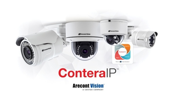 Arecont Vision Costar announces availability of all ConteraIP single-sensor megapixel camera models