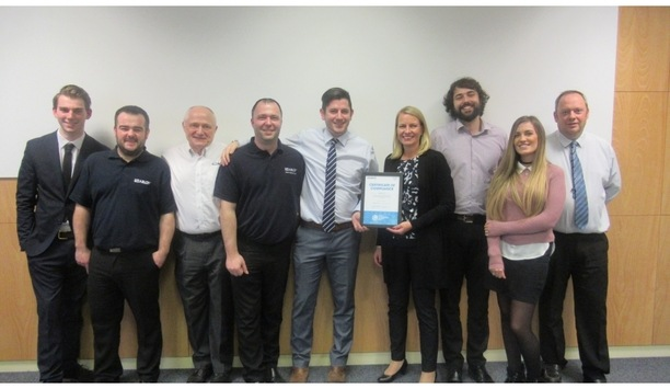 Abloy UK's Digital Transformation team gets awarded with CLIQ Competence Centre by ABLOY certification