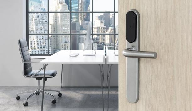 ASSA ABLOY – SMARTair i-max escutcheon enhances door security by providing virtual keys on smartphone