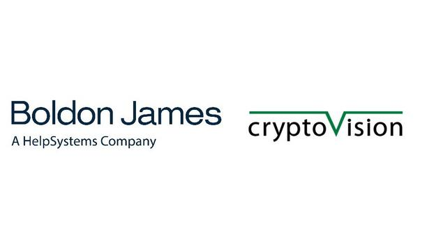 Boldon James Partners With Cryptovision To Provide Government Agencies With Secured Email Solution