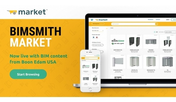 Boon Edam Inc. Collaborates With BIMsmith To Provide BIM Content To Architects And Designers