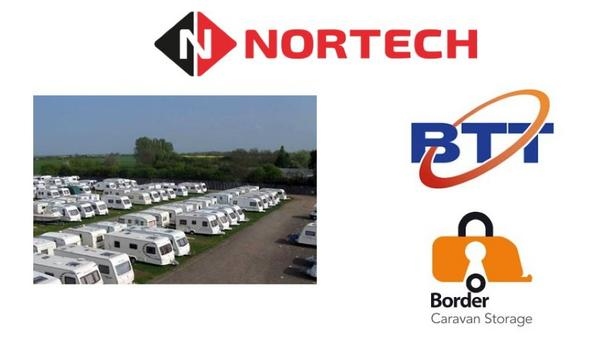 Nortech Control Systems provides uPASS long-range reader and tags to facilitate asset management at Border Caravan Storage site