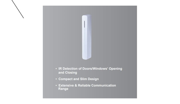 Climax Technology Announces The Launch Of OPDC-1-ZW Optical Door And Window Contact