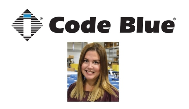 Code Blue Corporation Promotes Katie Petre To Position Of Director Of Distribution