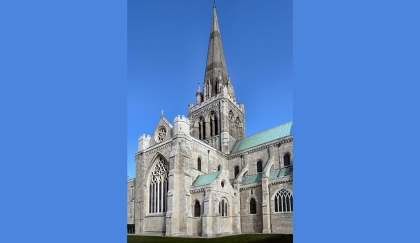 Comelit 4 Camera Wireless CCTV System Secures One Of UK's Famous Tourist Landmark, Chichester Cathedral