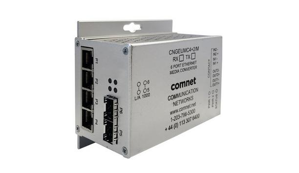 ComNet Expands Their Line Of Cybersecurity Products By Adding Intelligent Media Converters