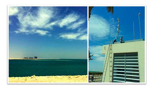 Dahua solves complex wireless surveillance requirements in Durrat Al Bahrain