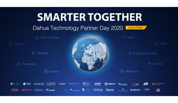 Dahua Technology To Host Dahua Technology Partner Day 2020 Online With 26 Technology Partners
