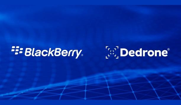 Dedrone And BlackBerry Ltd. Collaborate On Advanced Counter-Drone Technology To Secure Global Critical Sites