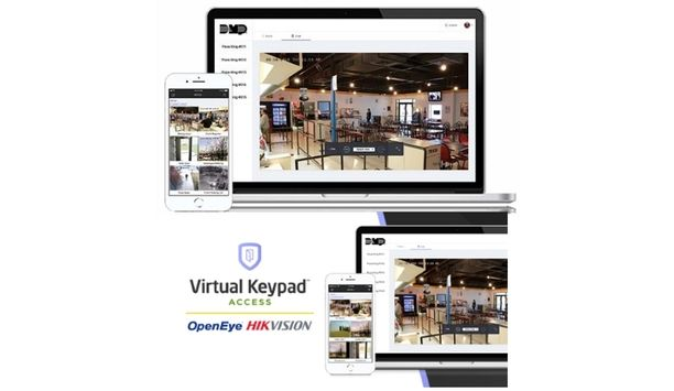 DMP Virtual Keypad Access Expands Commercial Video Capabilities