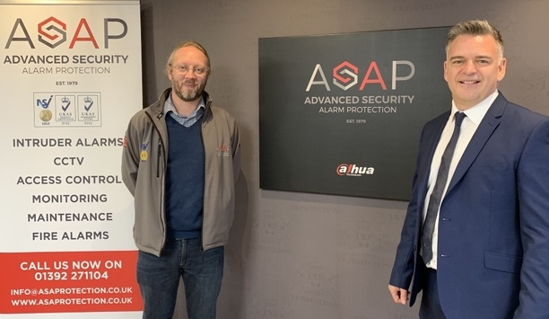 Advanced Security Alarm Protection awarded 'key partner' status with Dahua Technology