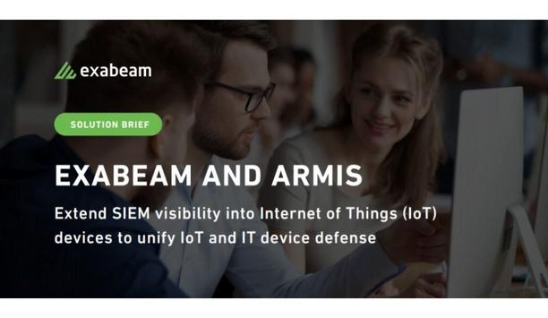Exabeam Announces Strategic Partnership With Armis To Extend SIEM Visibility To IoT Devices